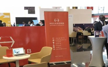 Hexakomb Office/ Expo Branding
