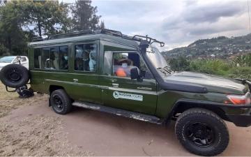Car Branding Mugisha Tours