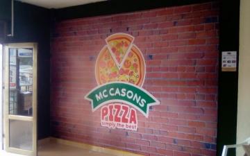 Wall paper Mc Carsons pizza